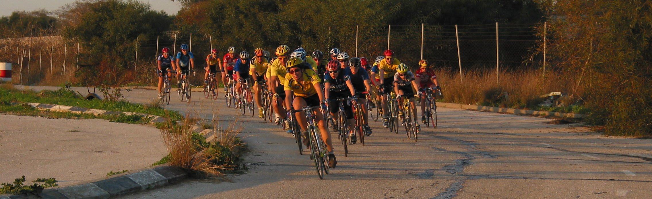 Yael Perez Biking competition